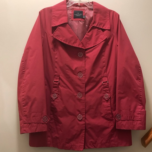 Faded Glory Jackets & Blazers - Berry colored Spring/Rain Coat. Size Large